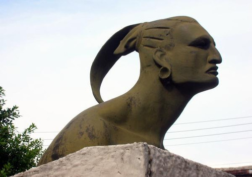 Photo: Statue of Hatuey. (Courtesy Travelblog.org)