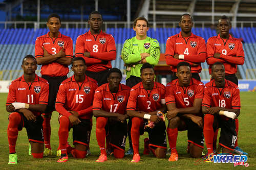 From day 3 of the Caribbean Football Union U-20 match between Trinidad & Tobago and Curacao at the Hasely Crawford Stadium.