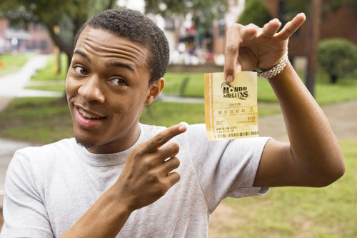 "Photo: ""Lottery ticket."""
