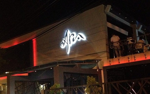 Photo: The Aria Lounge on Ariapita Avenue.