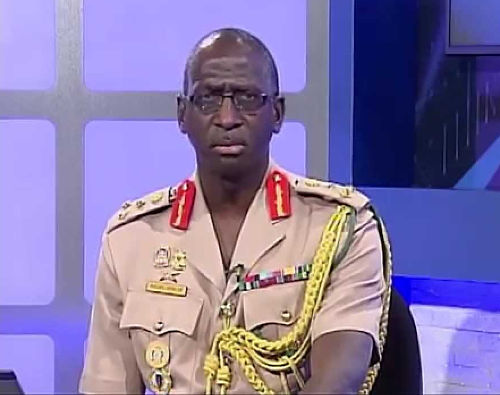 Photo: Brigadier Anthony Spencer. (Courtesy YouTube)