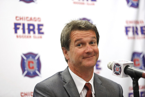 Photo: Former Chicago Fire and San Jose Earthquake coach Frank Yallop.