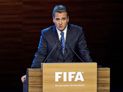 Photo: FIFA director of legal affairs Marco Villiger.
