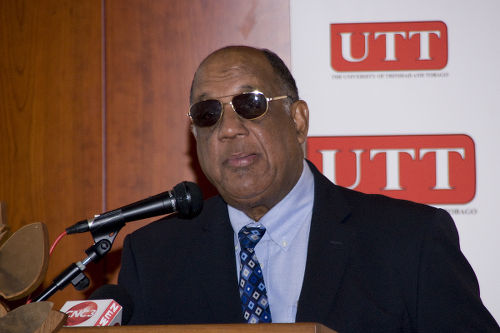 Photo: Former UTT chairman Professor Ken Julien. (Courtesy news.gov.tt)