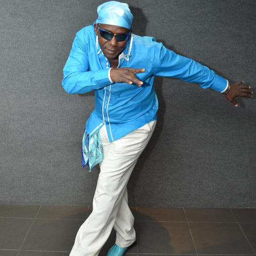 Photo: Soca legend Superblue. (Courtesy Jayblessed)