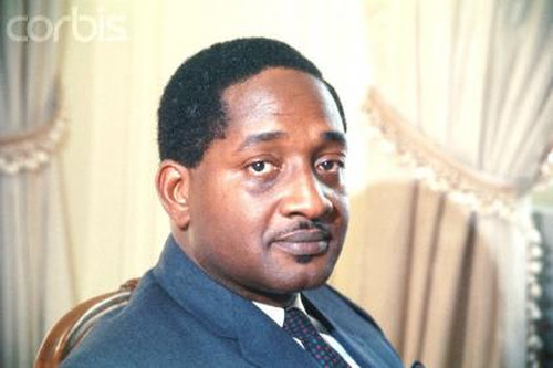 Photo: Former Guyana leader Forbes Burnham. (Courtesy Guyana Graphic)