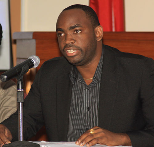 Photo: Acting Port of Spain mayor Keron Valentine. (Courtesy Power 102 FM)
