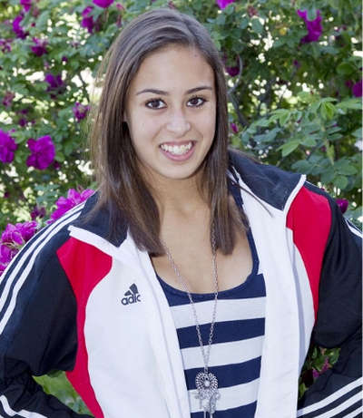 Photo: Trinidad and Tobago gymnast Marisa Dick. (Courtesy Sport Archives TT)