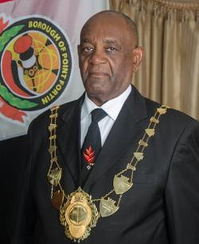 Photo: Point Fortin mayor Clyde Paul. (Courtesy Point Fortin Borough)