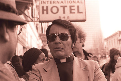 Photo: Late American cult leader Jim Jones.