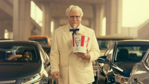 Photo: Actor Darrell Hammond plays KFC founder Colonel Sanders.