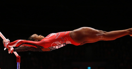 Photo: Trinidad and Tobago gymnast Thema Williams. (Courtesy Heritage Radio)