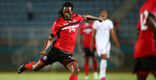 Photo: Trinidad and Tobago international utility player, Dwane James. (Courtesy Allan V Crane/CONCACAF)