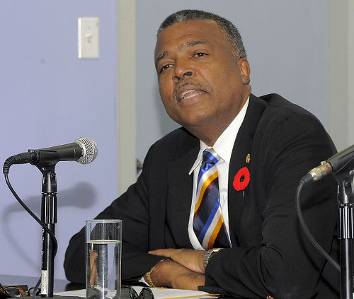 Photo: WICB CEO Michael Muirhead. (Copyright ESPN)