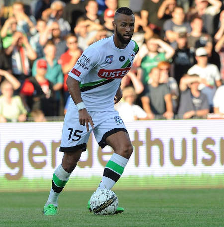 Photo: Trinidad and Tobago midfielder and former England national youth team captain John Bostock in action for Belgium club, OH Leuven.