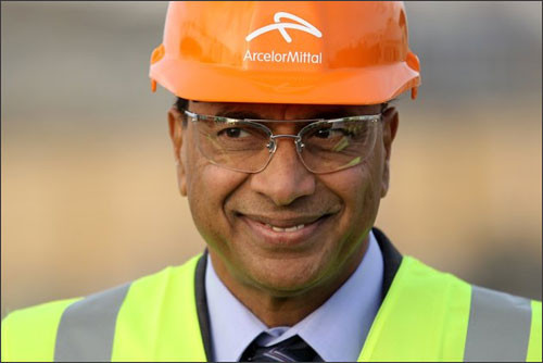 Photo: Steel tycoon and Indian billionaire Lakshmi Mittal is the owner of ArcelorMittal. (Courtesy Rediff)