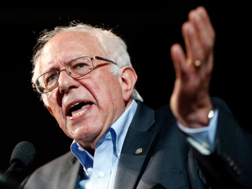 Photo: Democratic presidential candidate Bernie Sanders. (Copyright Techinsider)