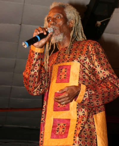 Photo: Iconic calypsonian Bro Valentino. (Copyright NCTT.Org)