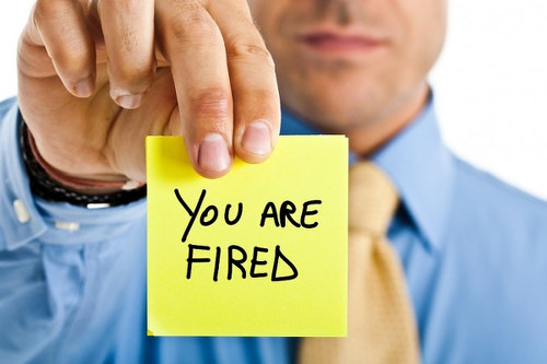 Photo: You're fired. (Courtesy Eremedia)