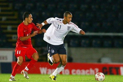 Photo: John Bostock represented England at National Under-17 and Under-19 level. (Copyright UK Times)