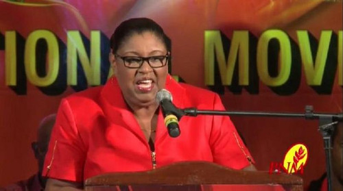 Photo: Housing Minister Marlene McDonald. (Courtesy PNM)