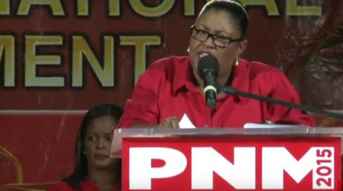 Photo: Housing Minister and Port of Spain South Marlene McDonald. (Courtesy LoopTT)