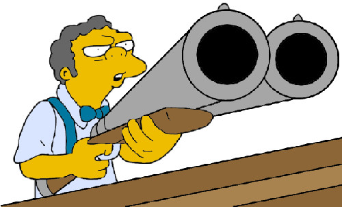 Photo: Want to ask me if you don't have to pay service charge again? (Copyright The Simpsons)