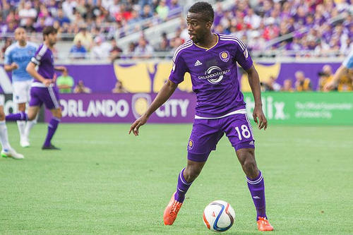 Photo: Orlando City and Trinidad and Tobago playmaker Kevin Molino. (Courtesy OrlandoSC)