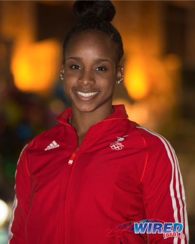 Photo: Trinidad and Tobago international gymnast Thema Williams. (Courtesy Allan V Crane/Wired868)
