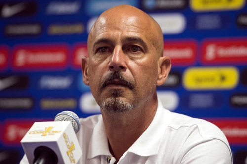 Photo: Trinidad and Tobago National Senior Team coach Stephen Hart. (Courtesy CONCACAF)