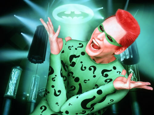 Photo: Riddle me this!