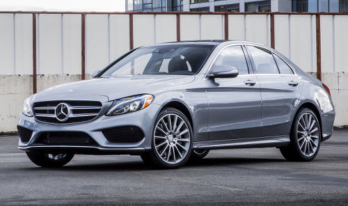 Photo: A Mercedes Benz C Class.