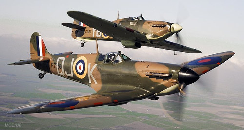 Photo: World War II Spitfires. (Copyright History.Net)