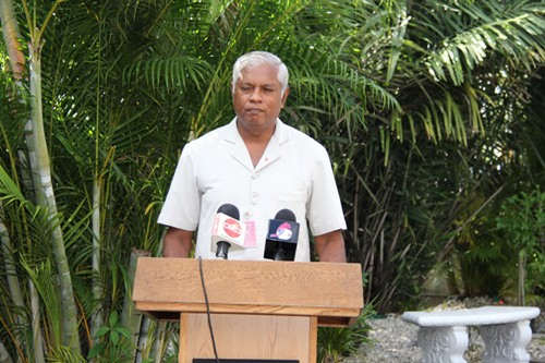 Photo: IRO head Harrypersad Maharaj.