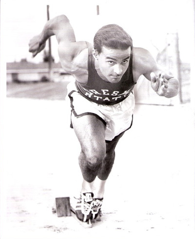Photo: Late ex-Trinidad and Tobago track star Mike Agostini. (Copyright Speedendurance.com)
