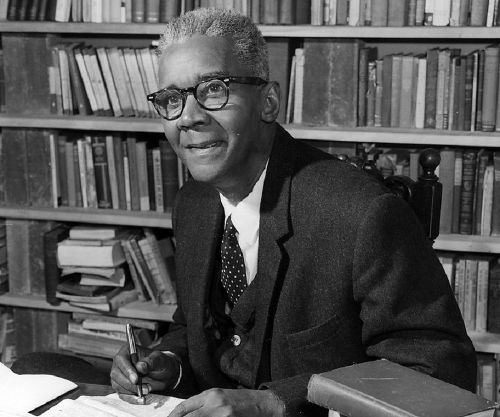 Photo: Iconic late Trinidad and Tobago writer CLR James. (Courtesy Thefamouspeople.com)