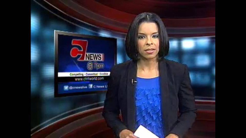 Photo: CNMG news anchor Samantha John.