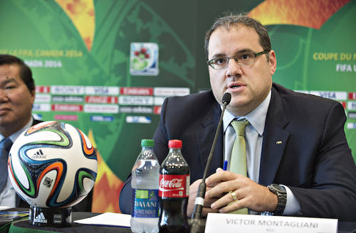 Photo: New CONCACAF president Victor Montagliani.