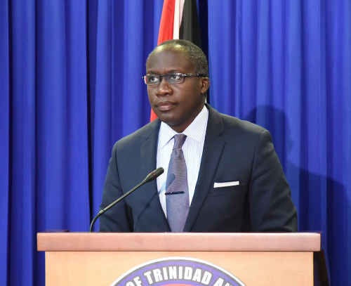 Photo: Minister of Communications and Public Administration Maxie Cuffie. (Courtesy Ministry of Communications)