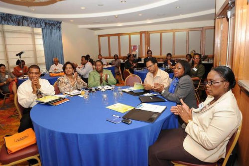 Photo: Trinidad and Tobago public servants attend a leadership and management seminar. (Copyright News.Gov.TT)
