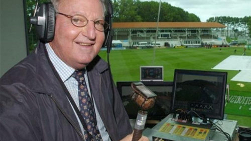 Photo: Late West Indies cricket pundit Tony Cozier. (Copyright FoxSportsAfrica)