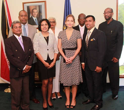 Photo: Trinidad and Tobago's Independent Senators. (Courtesy News.gov.tt)