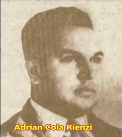 Photo: Late Trinidad and Tobago trade union leader, Adrian Cola Rienzi.