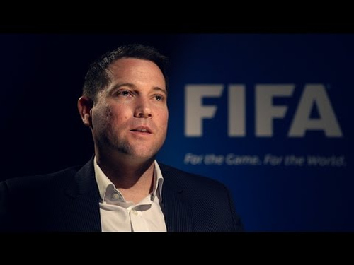 Photo: FIFA professional football development manager James Johnson .