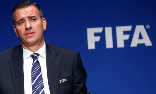 Photo: FIFA acting general secretary Markus Kattner.
