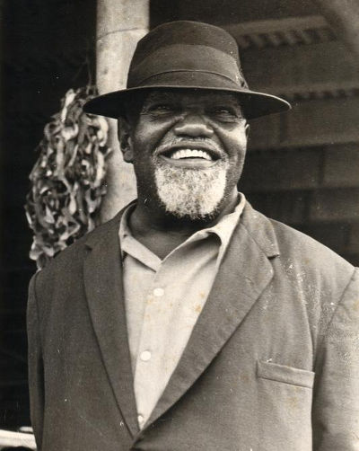 "Photo: Iconic Trinidad and Tobago labour leader Tubal Uriah ""Buzz"" Butler."