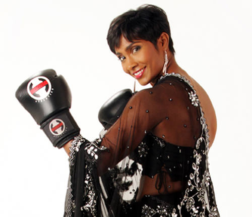 Photo: Retired Trinidad and Tobago boxing star Ria Ramnarine. (Copyright Women Boxing)