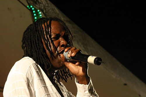 Photo: Trinidad and Tobago calypso icon David Rudder. (Courtesy Jacqueline Morris)