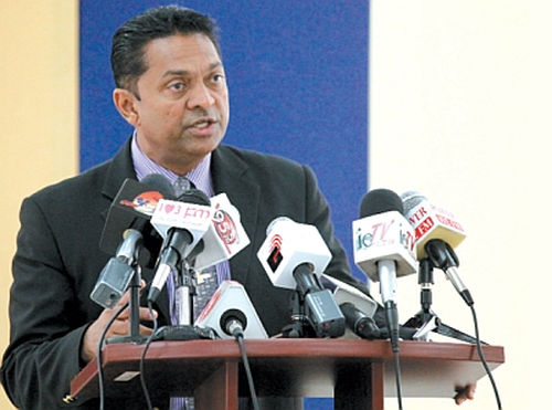 Photo: Former National Operations Centre (NOC) executive director Garvin Heerah. (Copyright Trinidad Guardian)