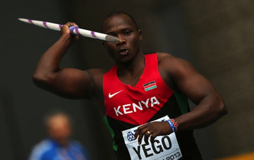 Photo: Kenyan javelin thrower won the 2015 World Championships in a momentous landmark for African sport.